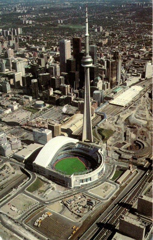 Canada Toronto Aerial View Showing Stadium 2001