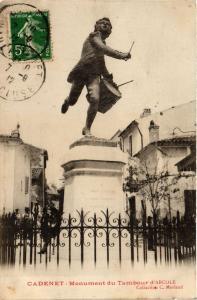 CPA  Cadenet - Monument du Tambour d'Arcole  (293459)