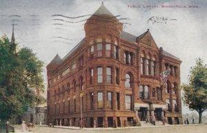 MINNEAPOLIS, Minnesota, 1910; Public Library