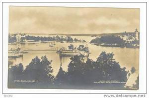 RP  Saltsjobaden, Sweden, harbour view, 00-10s