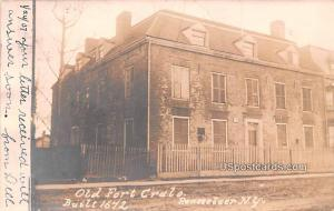 Old Fort Crulo Rensselaer NY 1907