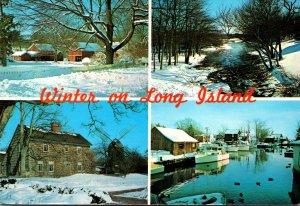 New York City Long Island Winter Scenes 1992