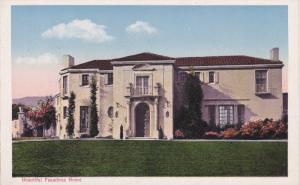 PASADENA, California, 1900-1910's; A Beautiful Pasadena Home