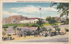 BOULDER CITY, Nevada, 1930-1940's; Government Administration Building