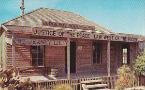 Texas Langtry Judge Roy Beans Court House