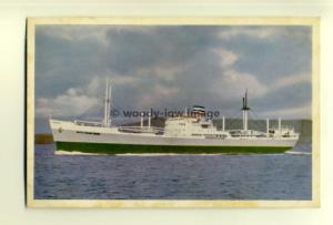cb0105 - Safmarine Line Cargo Ship - South African Trader - postcard