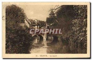Old Postcard Colmar Lauch