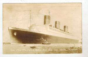 S.S. Queen Mary Cunard White Star