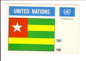 Togo, Flag, United Nations