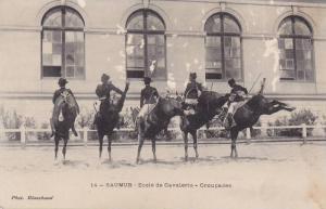 Ecole De Cavalerie - Croupades, Saumur (Maine et Loire), France, 1900-1910s