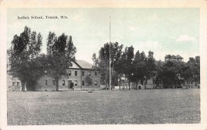 Indian School, Tomah, Wisconsin, Early Postcard, Unused