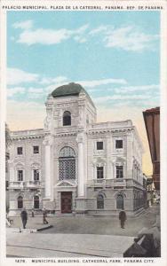 PANAMA CITY, Panama, 1910-1920s; Municipal Building, Cathedral Park