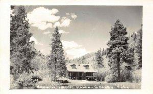 LP76 RPPC Granby  Colorado Vintage Postcard Drowsy Water Ranch