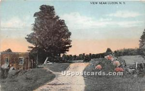 View near Luzon Hurleyville NY 1915