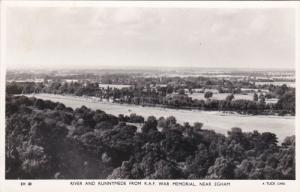 RP: TUCK; Near EGHAM, Surrey, England, United Kingdom; River and Runnymede fr...