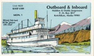 KETCHIKAN , Alaska , 1950-60s ; Steamer Runnin Bare