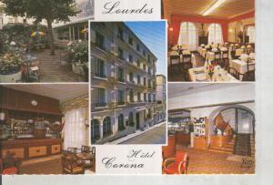 Postal 016196: Hotel Corona en lourdes