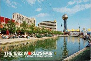 1982 World's Fair Knoxville TN Tennessee Postcard C8