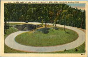 NC - Great Smoky Mountains National Park, The Loop-Over on Newfound Gap Highway