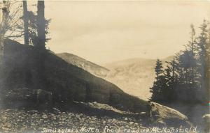 Smugglers Notch from Road up Mt. Mansfield 1922