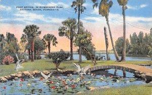 Foot Bridge, in Riverfront Park Daytona Beach, Florida
