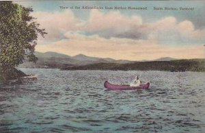 Vermont Basin Harbor The View Of The Adirondacks From Harbor Homestead Albertype
