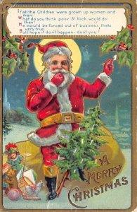 Christmas Santa Claus 1909