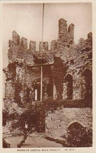 RP, Ruins Of Castle Keep, Dudley, England, UK, 1920-1940s