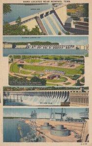 MEMPHIS , Tennessee, PU-1954 ; Five Dams located near Memphis