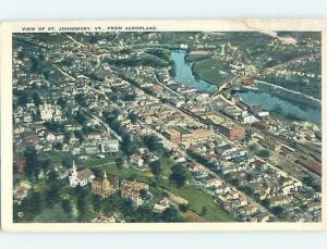 Damaged By Tape W-Border AERIAL VIEW St. Johnsbury Vermont VT A5538