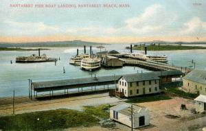 MA - Nantasket Beach. Pier, Boat Landing