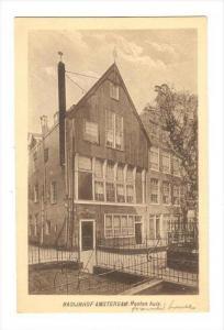 Bagijnhof Amsterdam . Hauten huis, Netherlands , 1910s