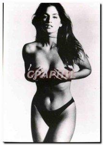 Postcard Modern Erotic Nude Woman Cindy Crawford