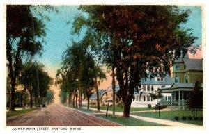 Maine  Sanford , Lower Main street
