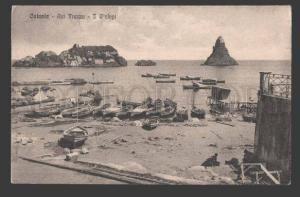 114008 Italy Catania ACI TREZZA I Ciclopi Cyclopean Isles OLD