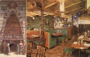 MONTREAL , Quebec , Canada , 50-60s ; Kon-Tiki Polynesian Restaurant