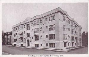 Kohlhagen Apartments, Roseburg, Oregon, 1910-1920s