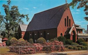 Orangeburg South Carolina~Holy Trinity Catholic Church~1950s Postcard