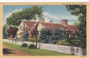 Massachusetts Cape Cod An Old Cape Cod Home 1946 Curteich