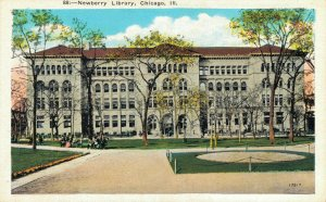 USA Illinois Chicago Newberry Library 04.24