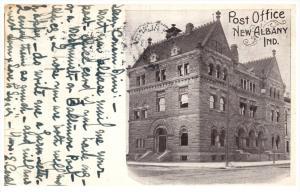 Indiana  New Albany   Post office