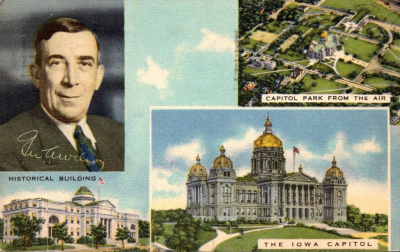 Iowa Des Moines Multi View 1942