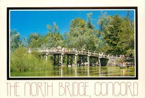 North Bridge Concord Massachusetts Minuteman National Historical Park Postcard