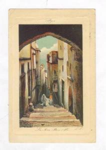 ALGER.- La Rue Den Ali, PU-1910, Algeria