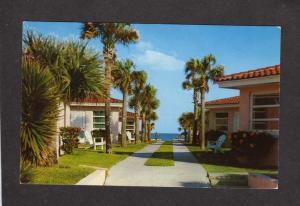 FL Bahama Colony Cottages Daytona Beach Florida Postcard
