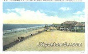 Boardwalkk in Carolina Beach, North Carolina