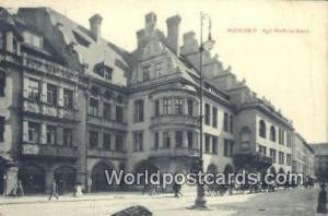 Munchen Germany, Deutschland Postcard Kgt Hofbrauhaus  Kgt Hofbrauhaus