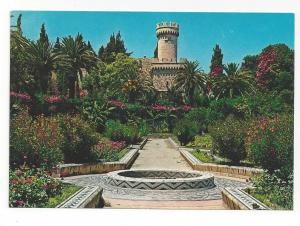 Greece Rhodes Flower Garden Mosaic Walks Rodos Rodi Vtg Postcard 4X6