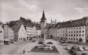 Landsberg Germany A Lech Vintage Real Photo German Postcard