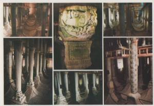 Basilica Cistern Turkish Turkey Postcard